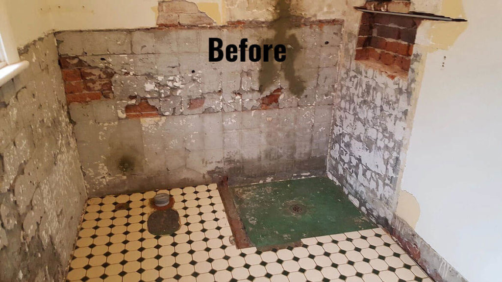 Bingham Plumbing & Gas - Before Bathroom Renovation